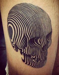 Stunning Skull Tattoo
