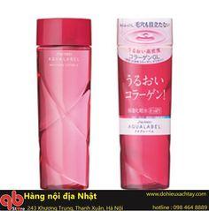 Nước hoa hồng Shiseido Aqualabel Moisture Lotion màu đỏ 200ml
