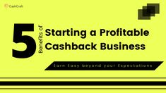 5 Major Benefits of Starting a Profitable Cashback Business Script, Benefit, Coupon, Company Logo, Business, Script Typeface, Coupons