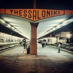 Escape to other cities in Greece by train #thessaloniki #nearbyescapes #greecetravel
