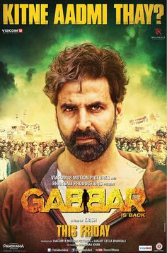 Gabbar Is Back new poster - Akshay Kumar