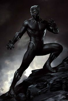 A new batch of Black Panther concept art, official images, and BTS photos have been released today and they provide a fascinating glimpse at what's to come and we even have work by Iron Man's Adi Granov. Black Panther Marvel, Black Panther Art, Black Panthers, Warrior Princess, Serena Williams, Catsuit, World Of Wakanda, Adi Granov, Black Panther Costume