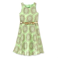 Love this little brocade dress! what a find!