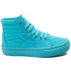 Youth Vans Sk8 Hi Skate Shoe ($99) ❤ liked on Polyvore featuring shoes