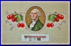 USA - PATRIOTIC, WASHINGTON 22 Feb.1732 - 27 Dec. 1799