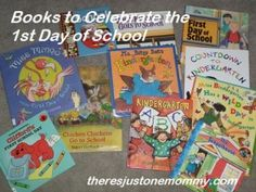 Some great #books to celebrate the 1st day of school
