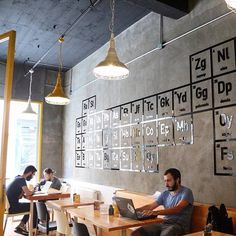 "Breaking Bad Coffee Shop ""Walter's Coffee Roastery"" in Istanbul Coffee Lab, My Coffee Shop, Coffee Shop Design, Coffee Lovers, Breaking Bad, Burger Bar, Istanbul, Cafe Bar, Restaurant Design"