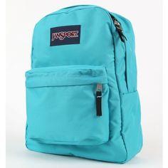 JanSport Super Break Backpack ($35) ❤ liked on Polyvore
