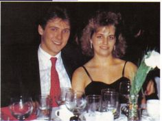 Karla Homolka, happy despite the fact that she and her husband had already raped many young women, killing two of them along they way.