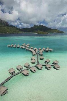 Hotel Deal Checker - Le Meridien Bora Bora Travel Images, Travel Pictures, Bora Bora French Polynesia, Tahiti, Bora Bora Hotels, Great Hotel, Cheap Hotels, Hotel Deals, Summer Travel
