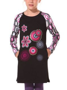 """The """"Praecox"""" dress by Desigual Girls for Fall 2013. Look so comfy!"""