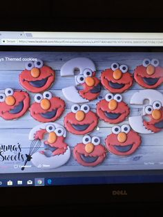 Emma's sweets Sesame Street Cookies, Sweets, Gummi Candy, Candy, Goodies, Treats, Deserts