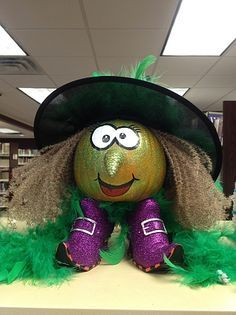 I'd love to make a pumpkin like this, but where can I get those shoes?!