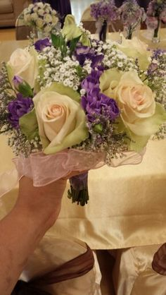 Maid of honor's bouquet