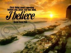 Believe......