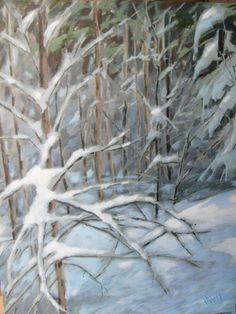 Light of Deep Winter Day