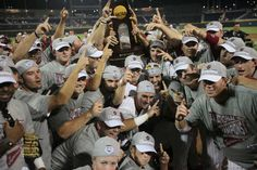 """Still the one"" back-to-back College World Series Champions University of South Carolina Gamecocks"