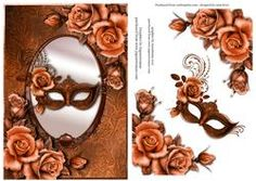 Copper Masque & Copper Roses