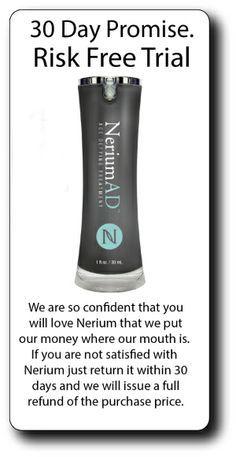 Fine lines, wrinkles, Real Results!...give us 30 days or your money back...visit: dmcarrere.nerium.com