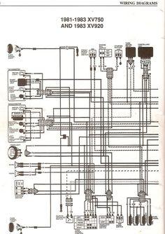 1981 1983 xv920 starting wiring diagram schematic diagram data