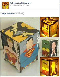 SUPER HEROIS ESTILIZADA
