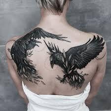 Znalezione obrazy dla zapytania kruki tatuaż
