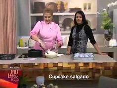 Elisabeth Teodoro Cup Cake Salgado de Calabresa Programa Mulheres