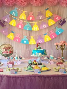 Beautiful banners  $2.25 per letter for name banner happy birthday banner $28