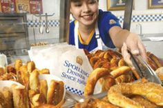 "12 Treats You Never Knew Were Vegan.  I so did not need to know that ""Auntie Anne's Pretzels"" were vegan."