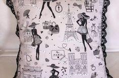 Tuto couture : réaliser un short femme ou enfant , facile à suivre avec son pas à pas en images ! - 1000 idées à faire chez soi Sewing Pillows, Diy Pillows, Cushions, Throw Pillows, Sewing Tutorials, Sewing Crafts, Sewing Projects, Paris Quilt, Baby Patchwork Quilt