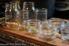 sterilize your jars -- I usually get my water bath heating while I'm chopping all the veggies so it's ready when I am - so I just put the jars in the water bath to sterilize Making Salsa, How To Make Salsa, Mason Jars, Veggies, Bath, Vegetable Recipes, Vegetables, Mason Jar, Bathrooms