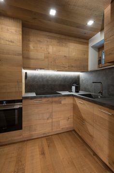 Large Kitchen Design, Kitchen Room Design, Kitchen Cabinet Design, Kitchen Layout, Interior Design Kitchen, Modern Interior Design, Cabin Kitchens, Luxury Kitchens, Casa Loft