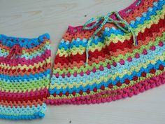 granny strip toddler skirt