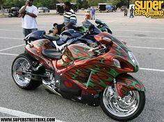 Black Bike Week 2008 Custom Hayabusas