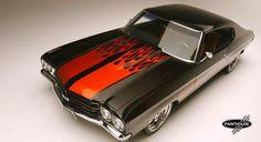 70 Chevelle Heavy Metal: Custom Build & Custom Car Paint