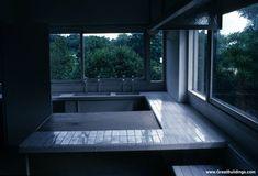 Le Corbusier - Great Buildings Image - Villa Savoye  Kitchen
