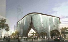 Xiqu (Chinese Opera) Centre | Ronald Lu & Partners + Bing Thom Architects | Archinect