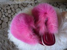 Fluffy Sliders, Slippers, Fur Slides, Etsy, Shoes, Fashion, Lush, Women, Sandals