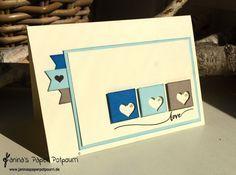 jpp - Beach Colors Card / Stampin' Up! Berlin / Hello Life  www.janinaspaperpotpourri.d