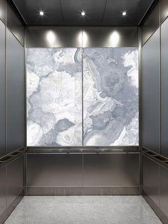 LightPlane Panel with ViviStone Pearl Onyx glass, Pearlex finish shown…