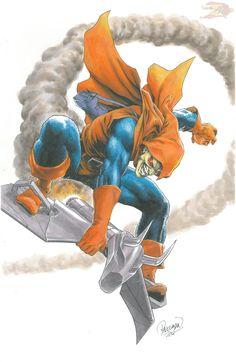 Hobgoblin Art by Carlo Pagulayan Comic Book Villains, Marvel Villains, Comic Books Art, Comic Art, Marvel E Dc, Marvel Fan Art, Marvel Comic Universe, Marvel Comic Character, Marvel Characters