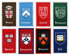 Inspiration for Ivy League Seal Prints