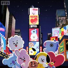 Os meninos do BTS tornaram-se oficialmente emojis, graças a uma colaboração com o LINE FRIENDS. Conheça mais sobre o BT21 e a história desses personagens!
