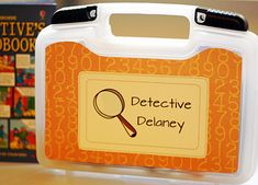 DIY Detective or Spy Kit for Kids, going to do this for Addy!