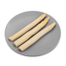 Imagen en la que se ven espárragos blancos Plastic Cutting Board, Vegetables Garden, Concept