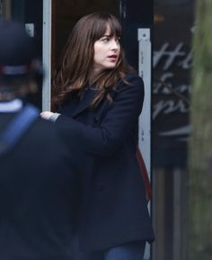 30 Adorable Pictures of Dakota Johnson on the Fifty Shades Darker Set
