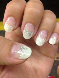 Pure nail salon. Summer polka dots. Cal gel.