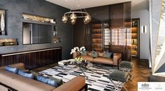 Moscow | Luxury Interior Design | Reception Room #InteriorDesign #ArtDeco #Home