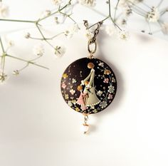 RESERVED for CICCIS12. Two pendants: Mother and the by EvaThissen