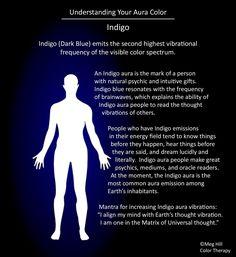Understanding your Aura color: Indigo
